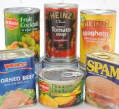 Items needed in our Food Bank